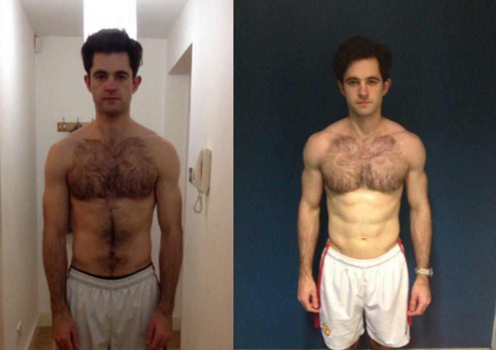 Chris frt 300x211 Hard work + DP personal trainers = fast results!